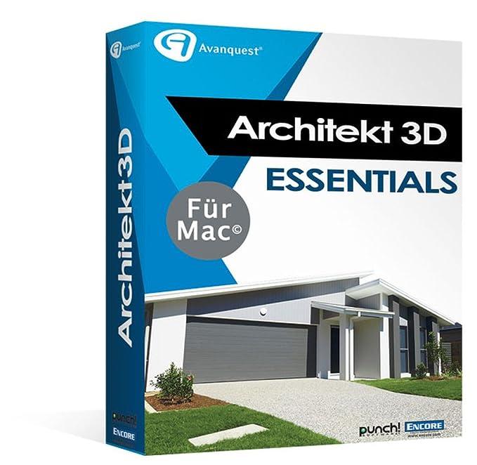 Architekt 3D X9 Essentials für Mac - Fotorealistische Haus- und ...
