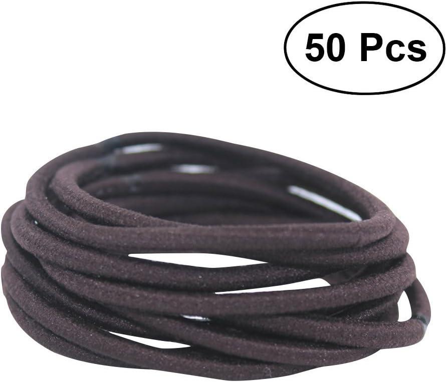 frcolor gomas para el pelo cuerda, nailon y goma bandas alta ...
