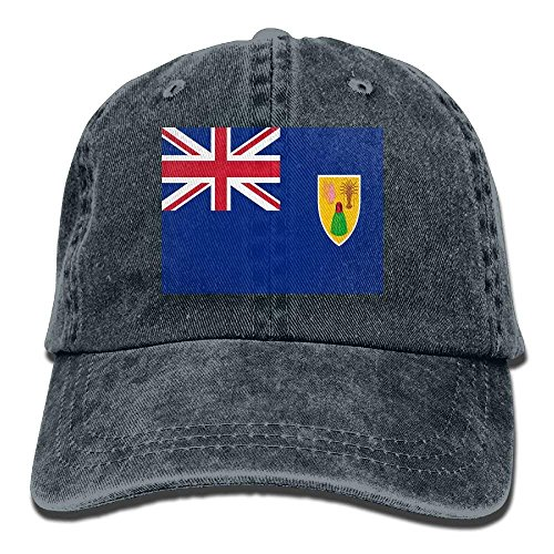 Hat Caicos béisbol Flag The For Baseball of Outdr Unisex Cowboy Islands Adult Denim Cap Women and Dad and Men Turks Gorras Sports jinhua19 C50w4q65