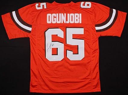 outlet store 41e8f 4ef08 Larry Ogunjobi Autographed Signed Cleveland Browns Jersey ...