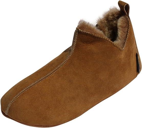 Amazon.com: Zapatillas de piel de oveja Bali zapatos de ...