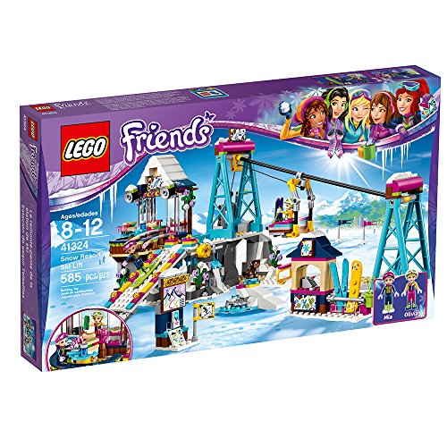 LEGO Friends Snow Resort Ski Lift 41324 Building Kit (585 Piece) JungleDealsBlog.com