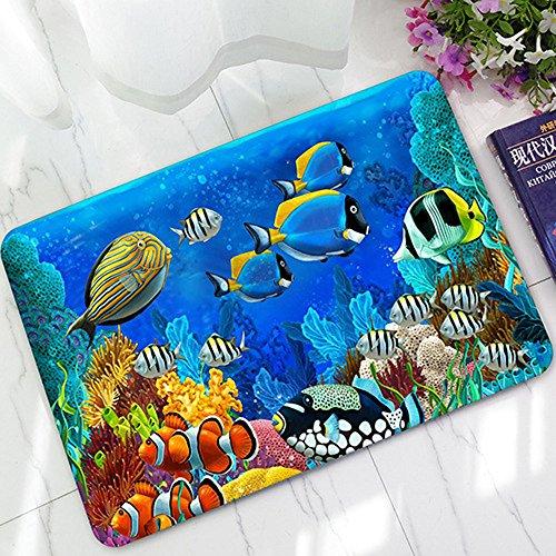 Kangma Anti-Skid Water Absorbent Pad Soft Indoor Carpet Bathroom Mats Front Door Kitchen Funny Doormats Personalized Durable Area Rugs 40 60 cm