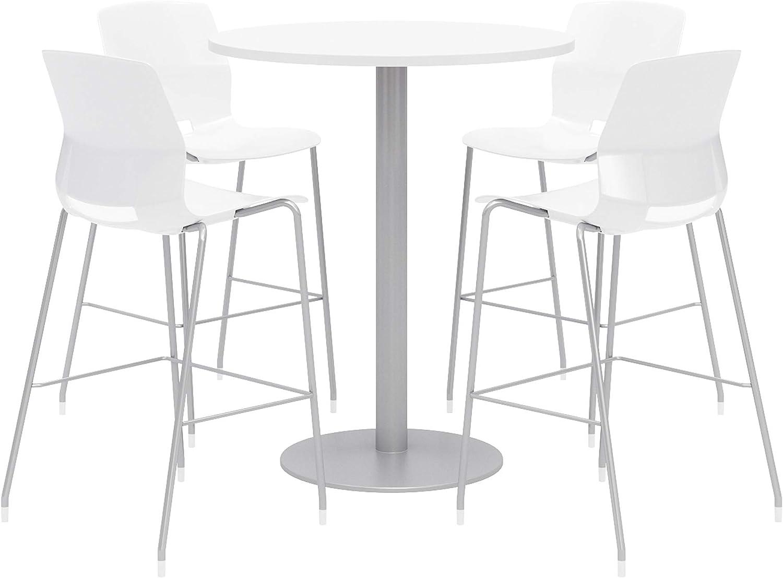Olio Designs Dining Room Furniture, Designer White Table, White Stools