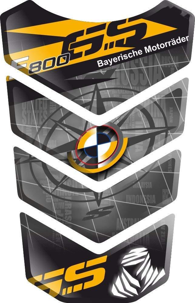 TANKPAD PROTECTION DE RESEVOIR TANKSCHUTZ PARASERBATOIO ADESIVO RESINATO EFFETTO 3D compatibile con BM.W F800GS F800 F 800 GS F-800-GS F-800 BMWF800 BMWF800GS v3