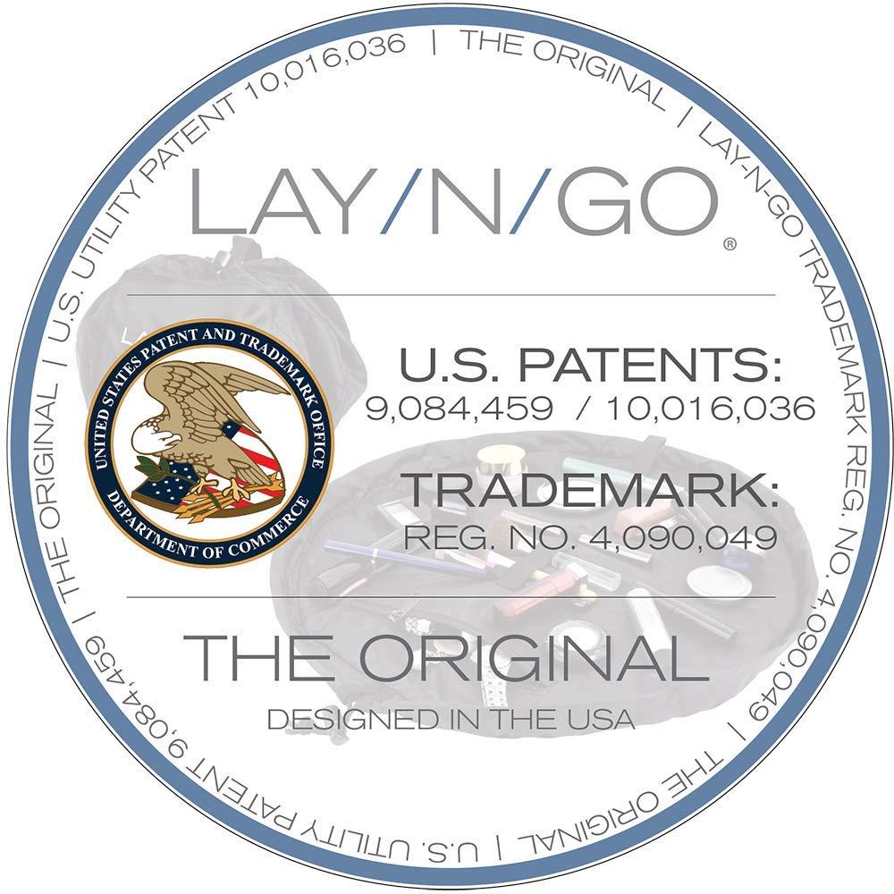 Lay-n-Go Cosmo (20 Inch) Cosmetic Bag, Black by Lay-n-Go