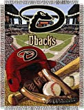 "MLB Arizona Diamondbacks Home Field Advantage Woven Tapestry Throw, 48"" x 60"""