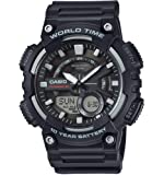 Casio Collection - Men's Analogue/Digital Watch with Resin Strap - AEQ-110W