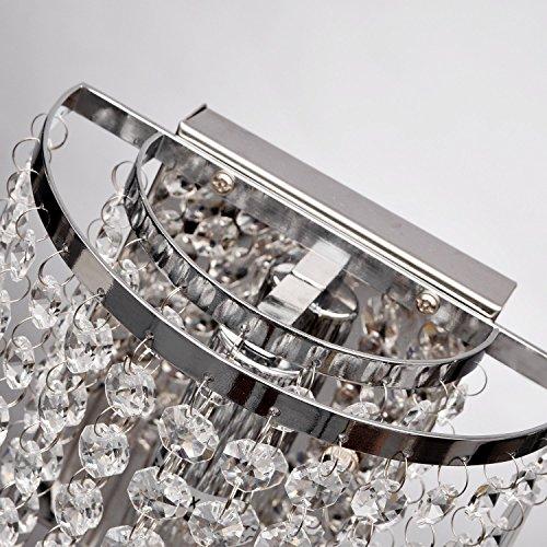 Crystal Wall Lights Aisle Bedside Light Fixtures
