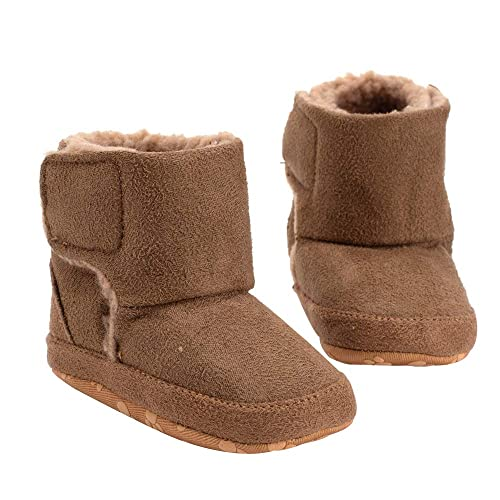 the best attitude 66c3a fc1de Unisex Neugeborenes Baby Winter Schuhe Samt Warm Rutschfeste ...
