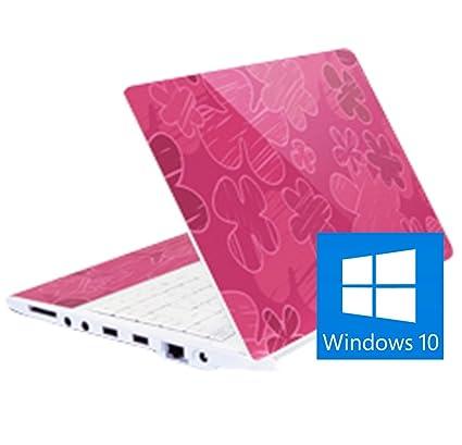 Ordenador portátil 11,6 Rosa Phoenix Quasar Atom N550 2GB RAM 128 GB