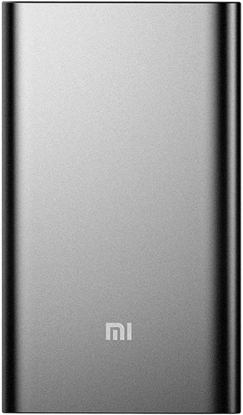 Portable Charger, Xiaomi Mi Slim Power Bank Pro 10000mAh, 18W Fast Charging Aluminum Battery Pack for iPhone X 8 7 6 Samsung Galaxy S9 S8 S7 Android. ...