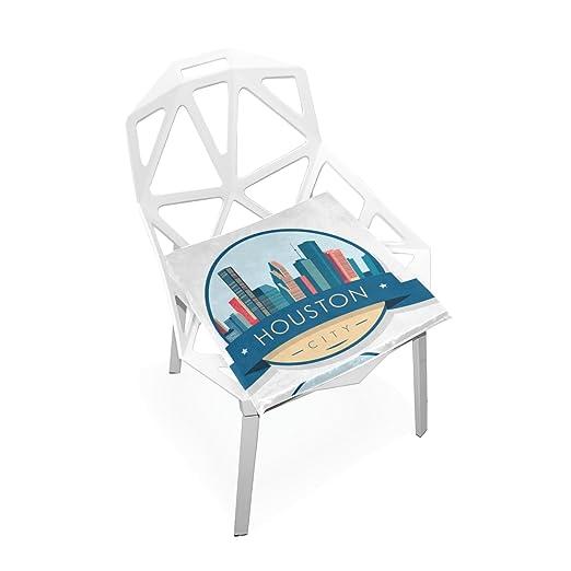 Gaopeng Juego de fundas para cojines de asiento de Houston ...