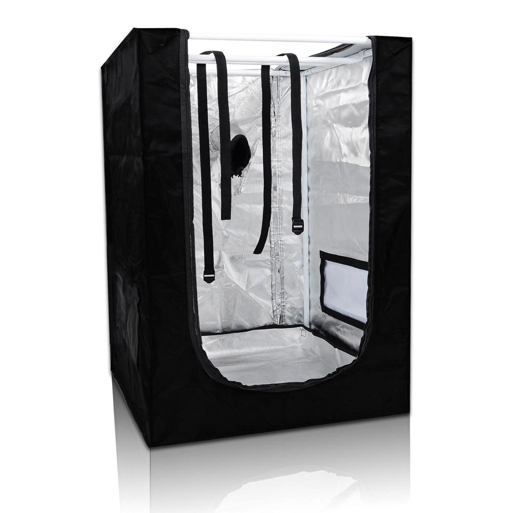 24''x24''x36'' Mini Grow Tent Indoor Hydroponics Dark Room 100% Reflective Mylar