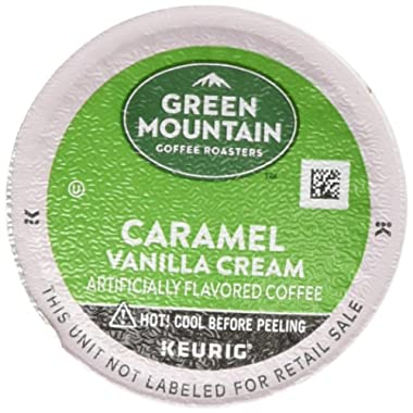 Green Mountain Coffee Roasters, Caramel Vanilla Cream, 96-Count (4 Boxes of 24 Pods)