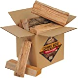 Smoak Firewood Cooking Wood Logs - USDA Certified Kiln Dried (Red Oak, 08in Pieces (08-10lbs))