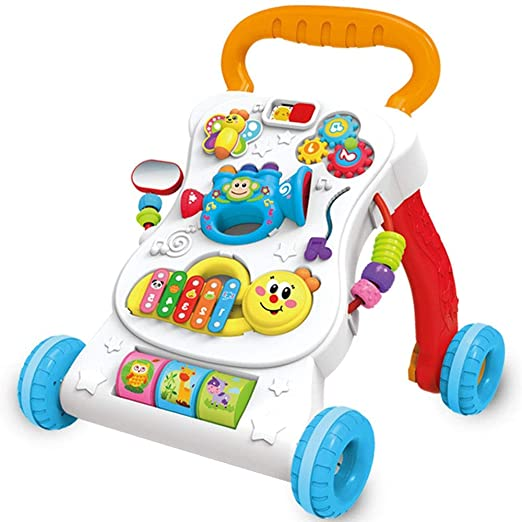 Wanlianer Andador Baby Walker Trolley antivuelco Baby Music Play 6 ...