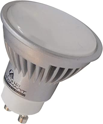 Pack 10x GU10 LED 7w. Color Blanco Calido (3000K). 680 Lumenes. Angulo 120 Grados. A++