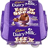 Cadbury Dairy Milk Egg 'n' Spoon Double Chocolate (4 eggs to share)