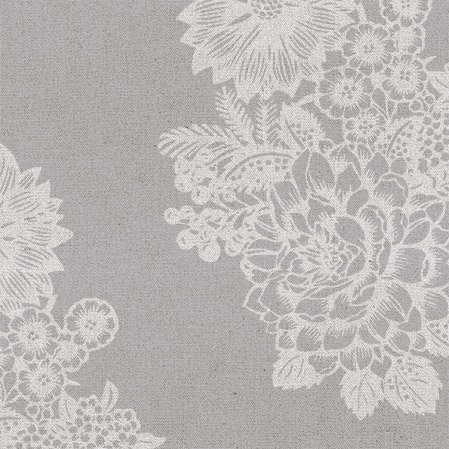 Wedding Paper Luncheon Napkins Lovely Lace Floral Pattern on Grey, Silver 40pcs]()
