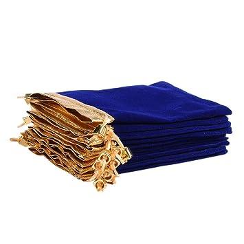 Amazon.com: Ladovin 25 bolsas de terciopelo suave con ...