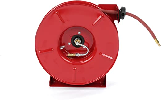 300 Psi Air//Water Hose Included 1//2 x 35/' Reelcraft B5835 OLP Premium Duty Spring Retractable Hose Reel 1//2 x 35