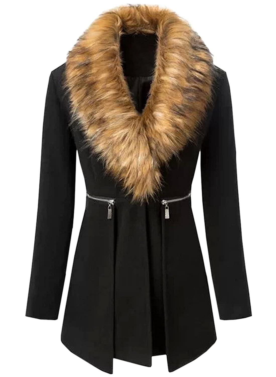Fur Collar Coats For Women