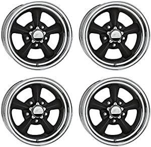 amazon new billet specialties rival black aluminum wheel set Black 1970 Chevelle SS share facebook twitter pinterest