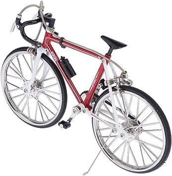 Toygogo 1/10 Modelo De Bicicleta De Carreras Aleación Modelo De Bicicleta De Carretera Simulada Decoración Regalos, Coleccionables, Decoración del Hogar - Estilo 2, Tal como se Describe: Amazon.es: Juguetes y juegos