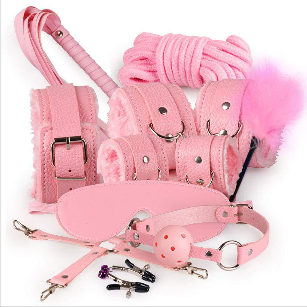 GJ La Serie de Parejas de Torturador Torturador Torturador de Senos Lisos Quiere Orgasmo clímax propicio Suministros de diversión Electrodomésticos apasionados GJV (Color : Pink) 415c02