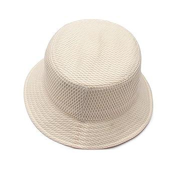 HLCUI Sombrero Verano Gorra De Protección Solar Rejilla Anti-UV Algodón Outdoor Acampada Senderismo Deporte Al Aire Libre Gorra Monta?A Unisex,56-59Cm,Khaki ...