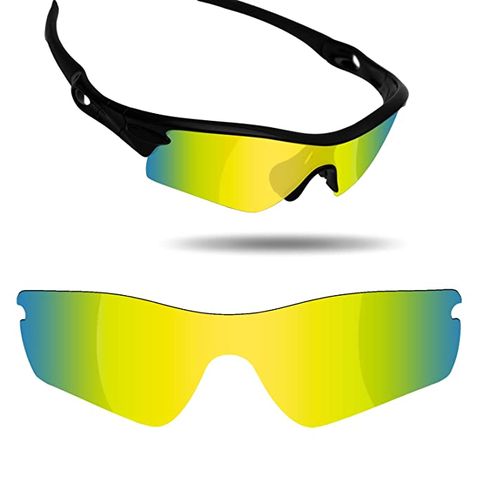 43d40feb70 Amazon.com  Fiskr Anti-Saltwater Replacement Lenses for Oakley Radar Path  Sunglasses - Various Colors  Clothing