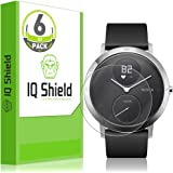 IQ Shield Screen Protector Compatible with Nokia Steel HR (40mm)(6-Pack) LiquidSkin Anti-Bubble Clear Film