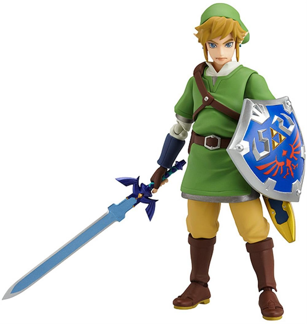 Good Smile The Legend Of Zelda: Skyward Sword Link Figma Action Figure(Discon.. 14
