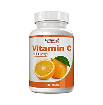 Vitamin C 1000 mg - 180 tablets | High-dose vitamin C preparation for optimal