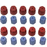 20Pcs/Set R134a 13mm & 16mm Air Conditioning Service AC System Charging Port Caps (