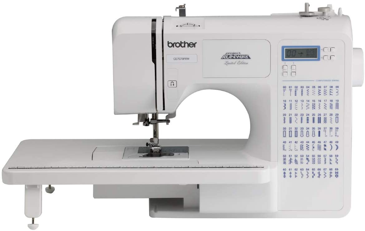 Best for expert users: Brother Sewing and Quilting Machine CE7070PRW