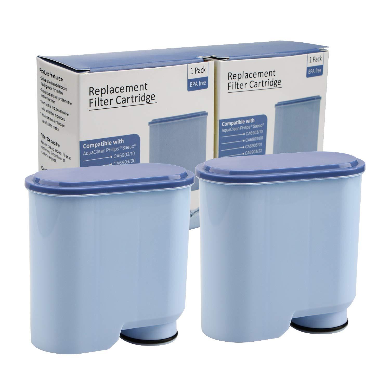 Cartucho de filtro de agua 2pcs para Philips y Saeco Coffee ...
