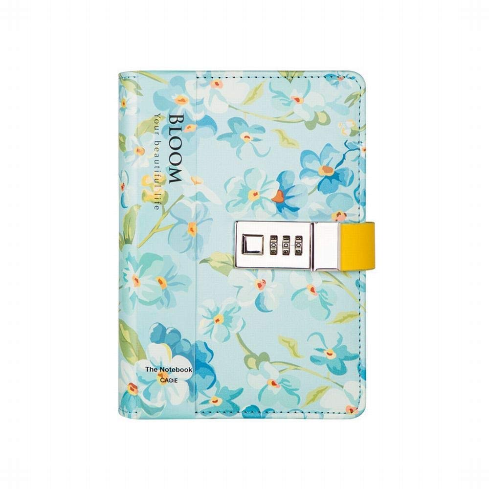 Sinngukaba Girl's Art Notebook with Password Loose-Leaf Diary Notebook,Hardcover Notebook (Color : Green) by Sinngukaba (Image #1)