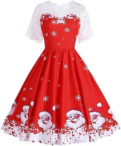 Mibuy Vestidos Mujer Invierno Sexy,Vintage Vestidos Cóctel ...