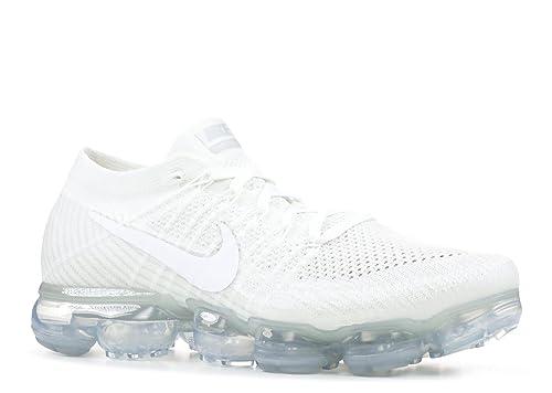 Nike AIR Vapormax Flyknit  Triple White  - 849558-100  Amazon.ca ... c9fd62f7c