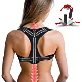 Posture Corrector for Women, Adjustable Back Posture Corrector for Men, Effective Comfortable Best Back Brace for Posture Und
