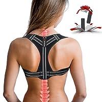 Posture Corrector for Women, Adjustable Back Posture Corrector for Men, Effective...