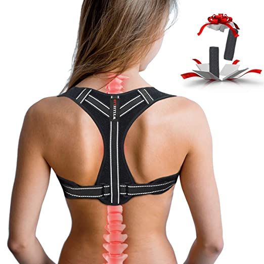 Posture Corrector for Women, Adjustable Back Posture Corrector for Men, Effective Comfortable Best Back Brace for Posture Under Clothes, Back Support Posture Brace for Shoulder and Back Pain Relief best women's posture corrector