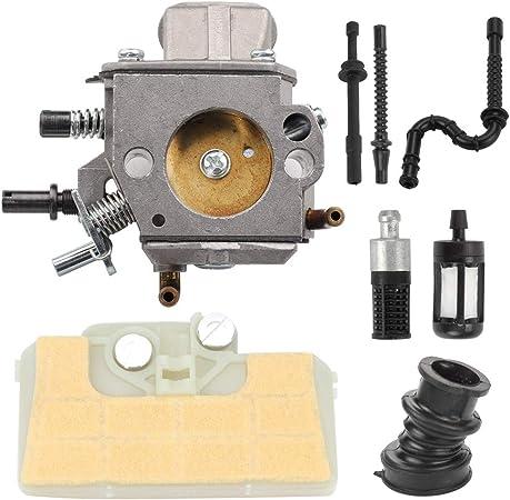 Air filter Carburetor kit fuel line /& filter Stihl 029 039 MS290 tune up kit