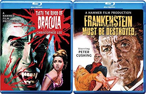 Hammer Horror Blu-ray Bundle - Taste the Blood of Dracula & Frankenstein Must Be Destroyed 2-Movie Set
