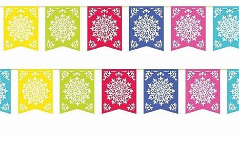 amazon com mexican party flags cinco de mayo cut plastic fiesta