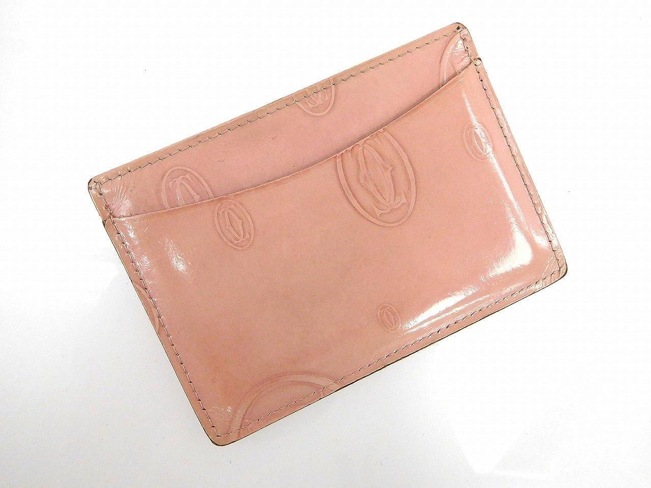 [カルティエ] Cartier カードケース エナメルレザー X11775 中古   B01H6Y1P38