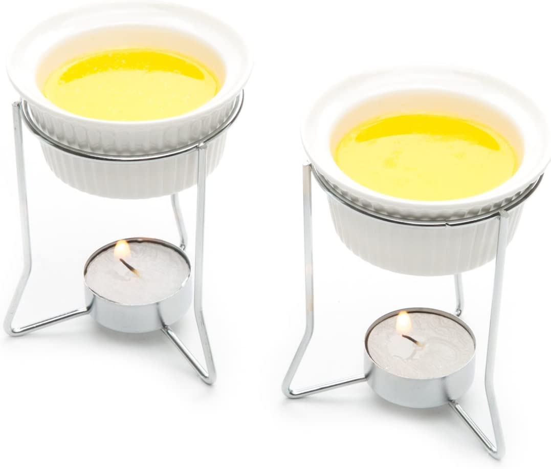 Amazon Com Nantucket Seafood Ceramic Butter Warmers Set Of Two Butter Warmers For Seafood Kitchen Dining
