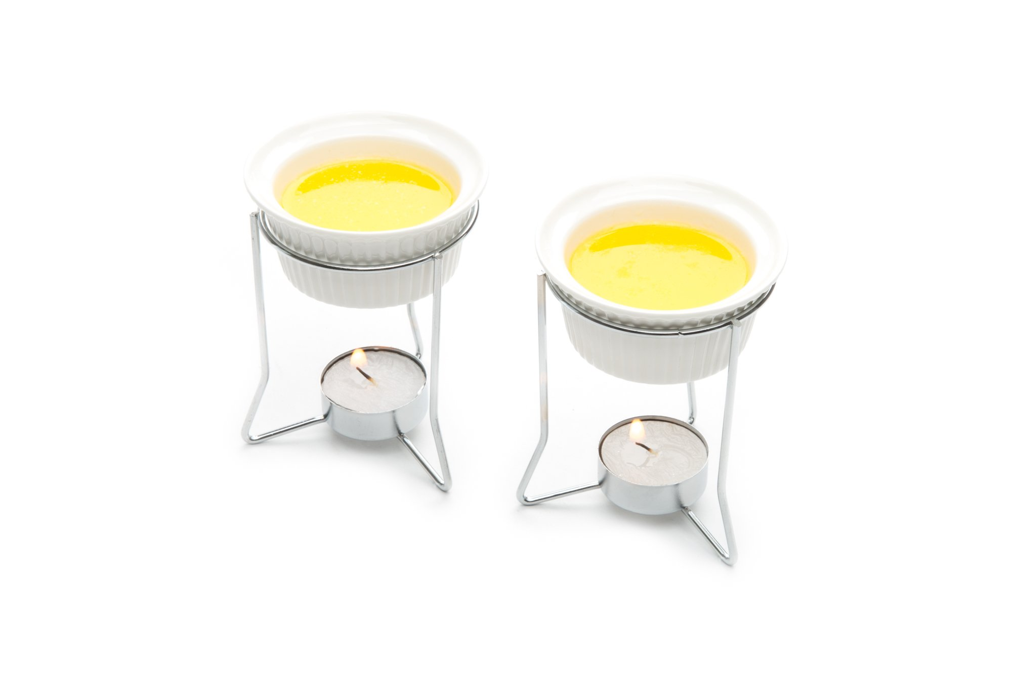 Nantucket Seafood 5590 Butter Warmers, Set of 2